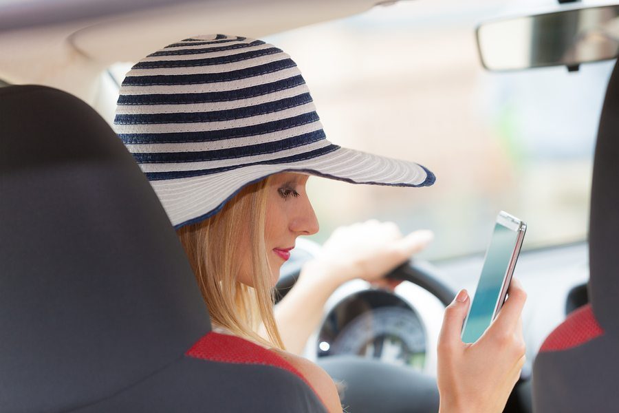 Automobile insurance rates are on the way up because of distracted driving…